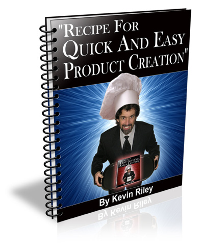 Recipe For Quick And Easy Product Creation